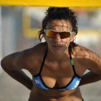Alejandra Simon Marta, Playa De Las Vistas, Los Cristianos, Teneriffa, Sunday, February 27, 2011. (Foto: Georgios Kefalas)